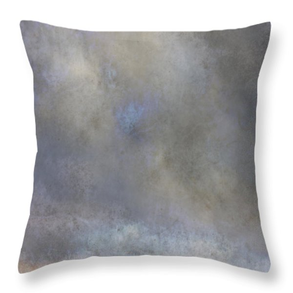Going To Barn Throw Pillow by Ron Jones