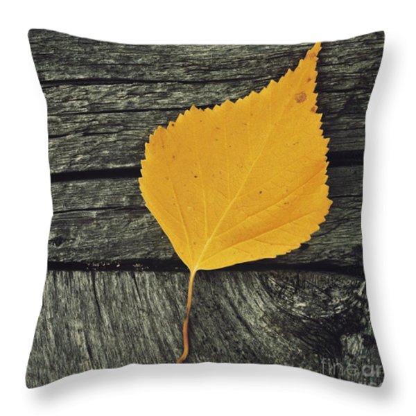Gone For Good Throw Pillow by Priska Wettstein