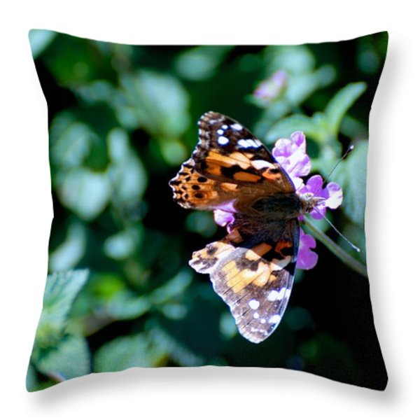 Got It Covered Throw Pillow by Eric Tressler