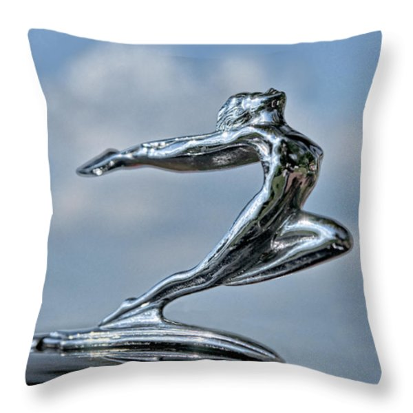Grace From 1935 Throw Pillow by Christopher Holmes