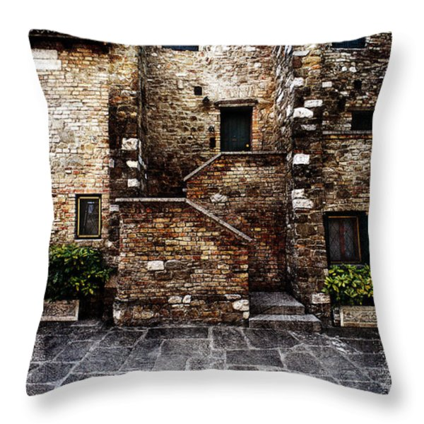 Grado 4 Throw Pillow by Mauro Celotti