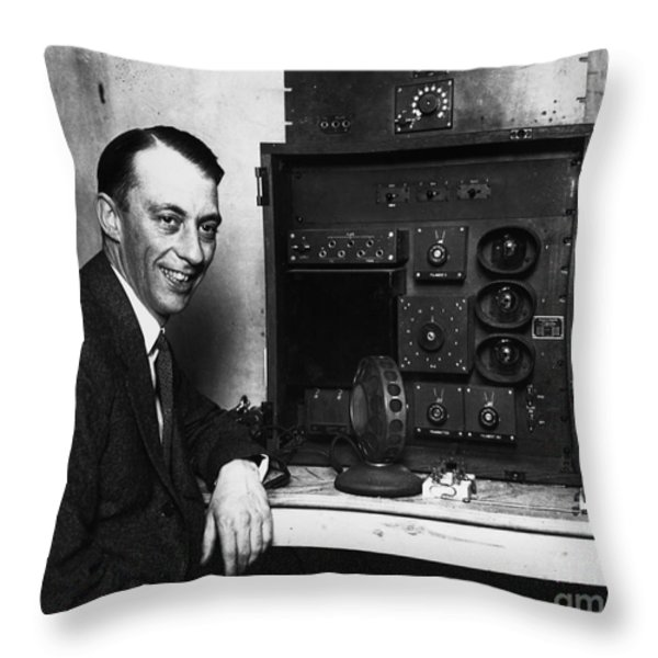 Graham Mcnamee (1888-1942) Throw Pillow by Granger