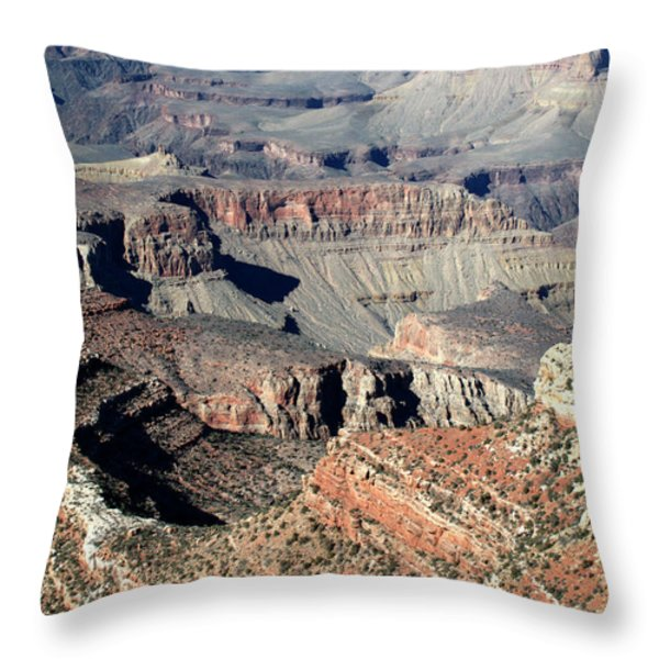 Grand Canyon Greatness Throw Pillow by Paul Cannon