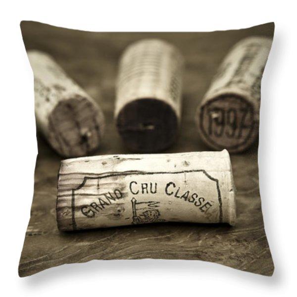 Grand Cru Classe Throw Pillow by Frank Tschakert