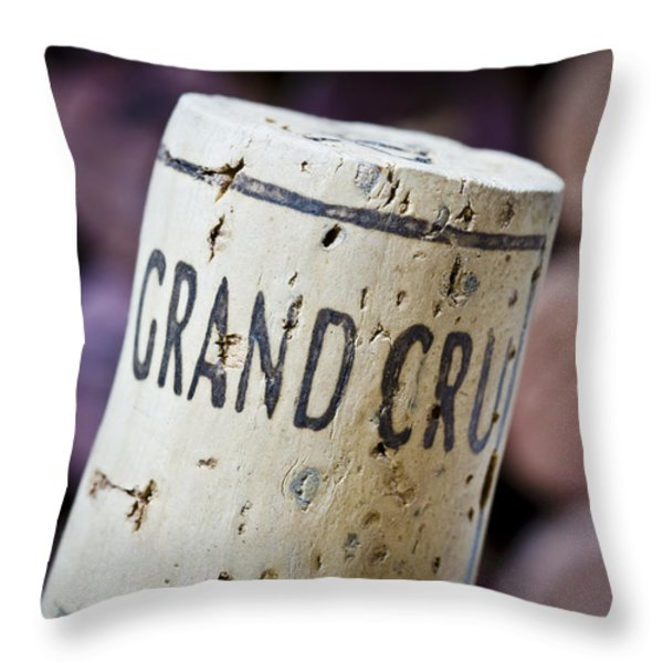 Grand Cru Throw Pillow by Frank Tschakert
