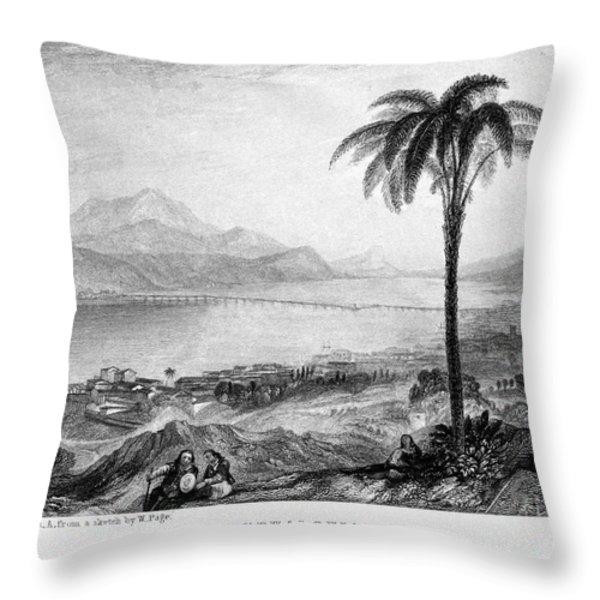 Greece: Kefalonia, 1833 Throw Pillow by Granger