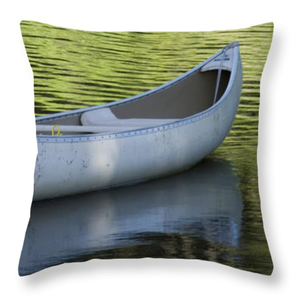 Green Water Throw Pillow by Idaho Scenic Images Linda Lantzy