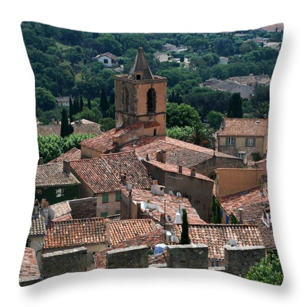 Grimaud Throw Pillow by Dany Lison