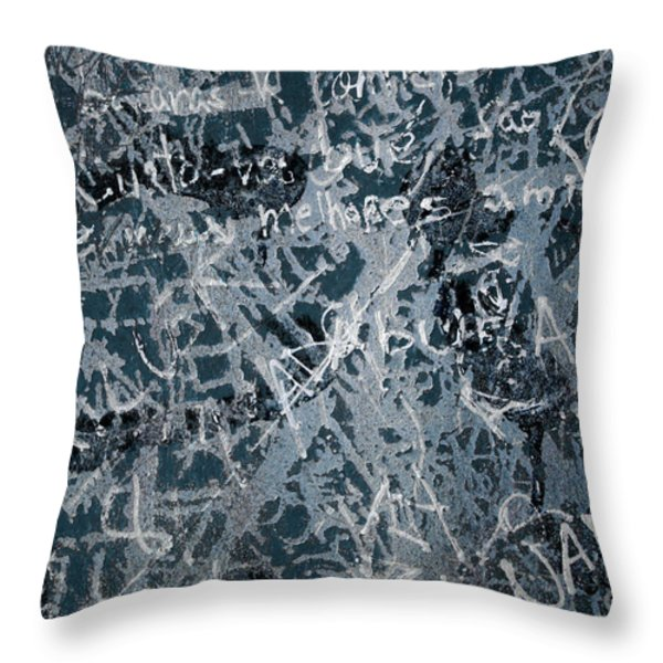 Grunge Background I Throw Pillow by Carlos Caetano