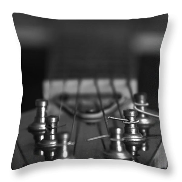 Guitar01 Throw Pillow by Svetlana Sewell