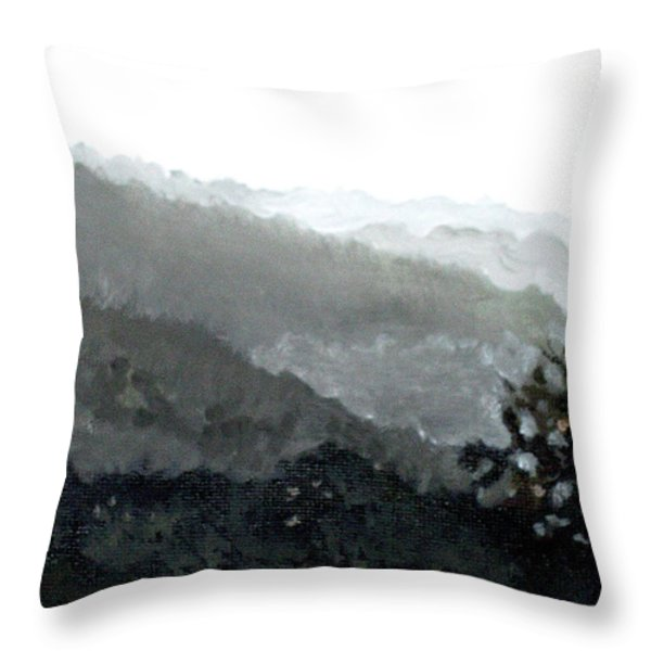 Hacienda Lamberti Throw Pillow by Sarah Lynch
