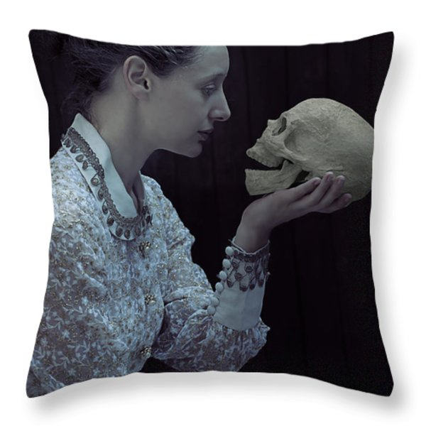 hamlet Throw Pillow by Joana Kruse