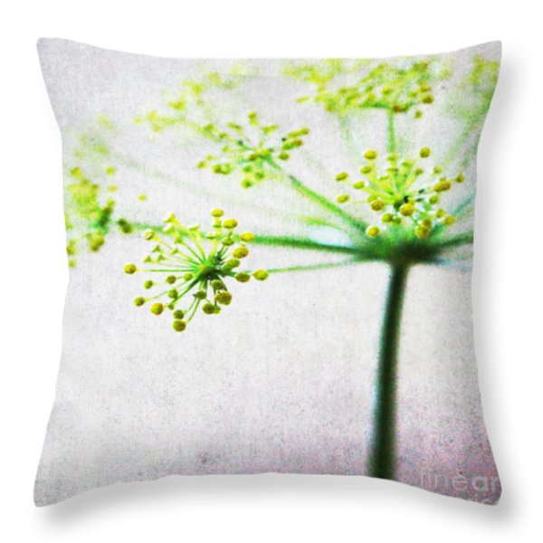 Harvest Starburst 2 Throw Pillow by Linda Woods
