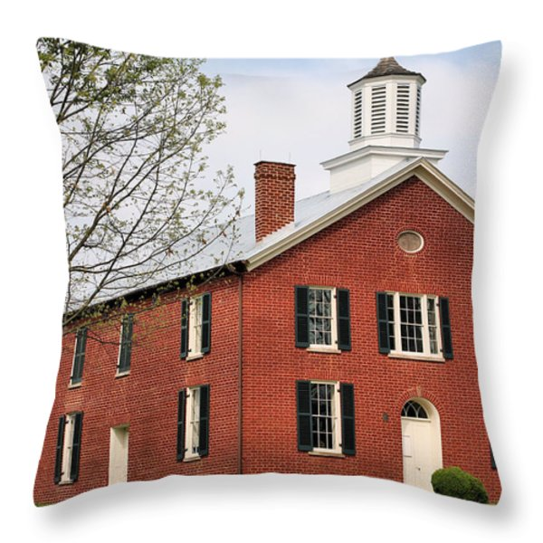 Haunted Throw Pillow by JC Findley