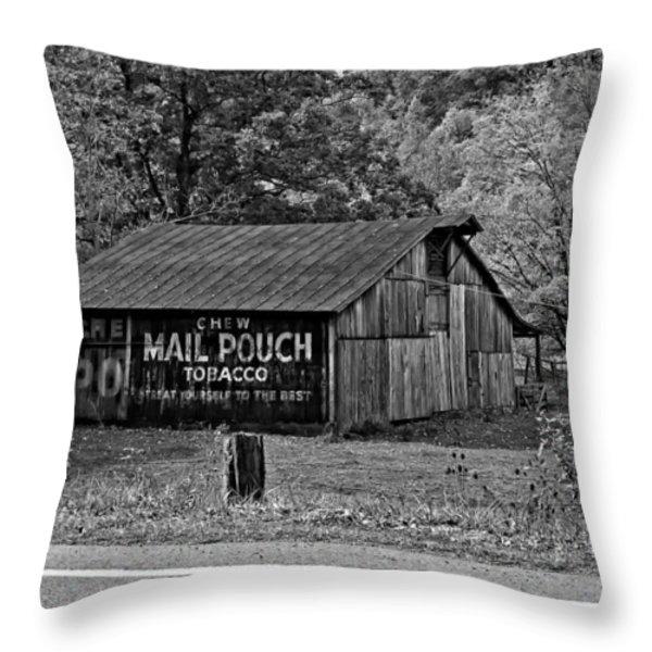 Have a Chaw monochrome Throw Pillow by Steve Harrington