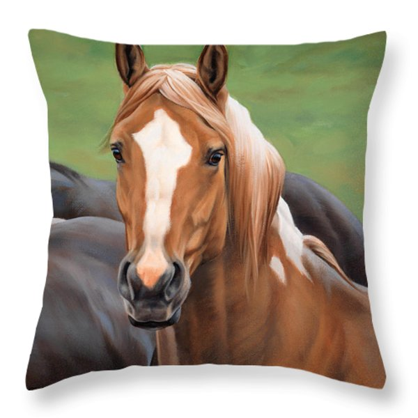Head's Up Throw Pillow by JQ Licensing