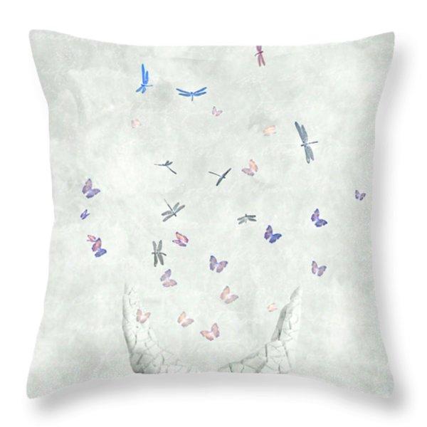 Heal Throw Pillow by Photodream Art