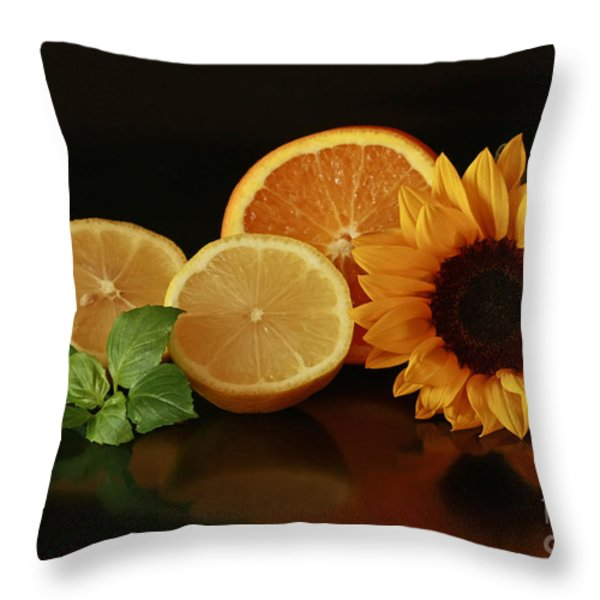 Healthy Food Matters Throw Pillow by Inspired Nature Photography By Shelley Myke