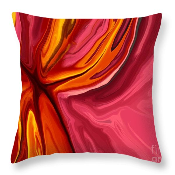 Heartache Throw Pillow by Chris Butler
