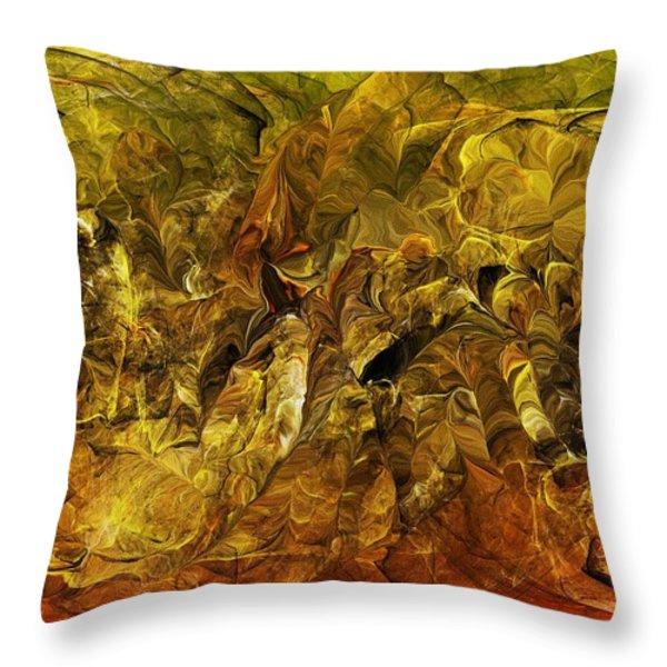 Heat Of The Battle Throw Pillow by David Lane