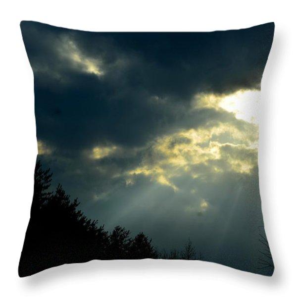Heaven Sent Throw Pillow by Maria Urso