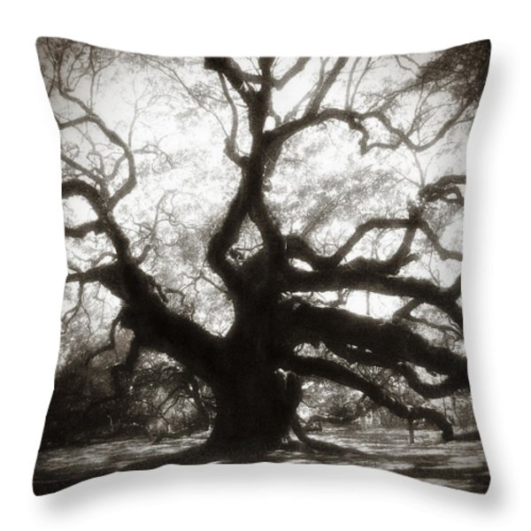 Her Magesty Throw Pillow by Amy Tyler