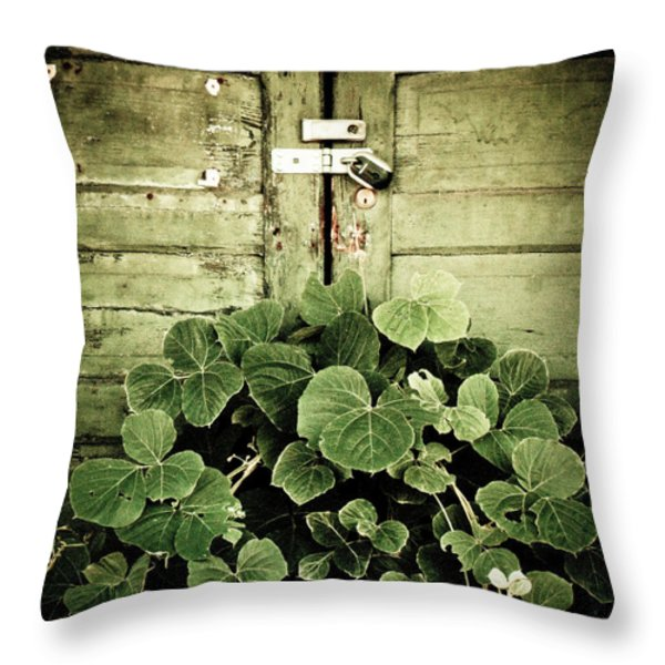 Hidden Nature Throw Pillow by Jessica Brawley