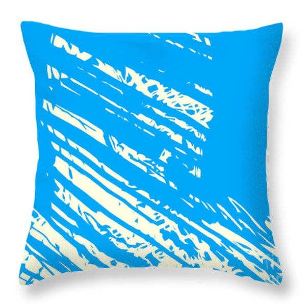 Him  Throw Pillow by Pixel Chimp