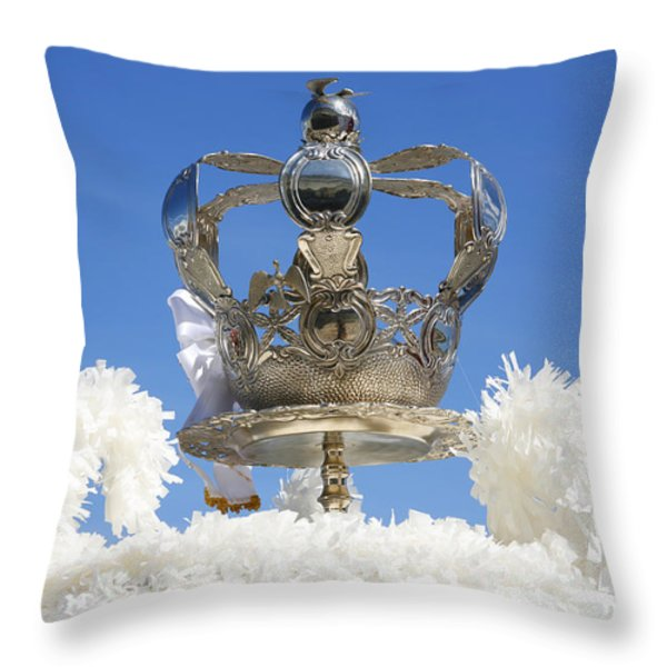 Holy Spirit Crown Throw Pillow by Gaspar Avila