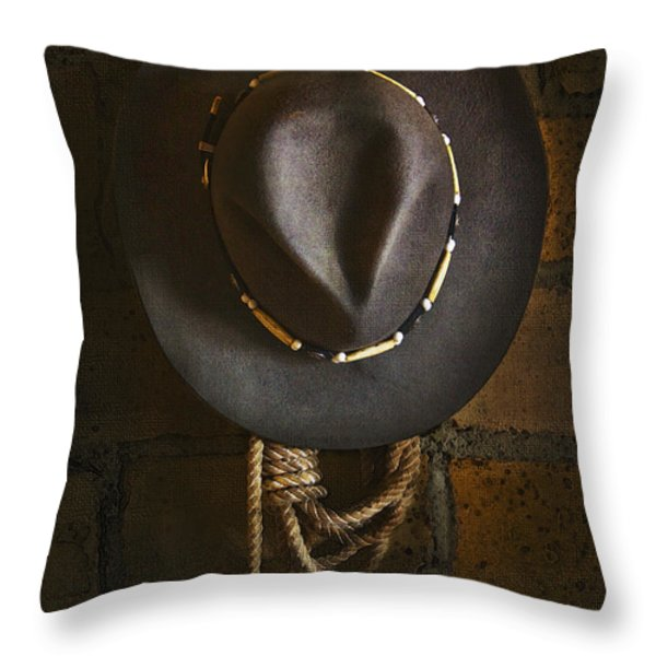 Home from The Range Throw Pillow by Ron Jones