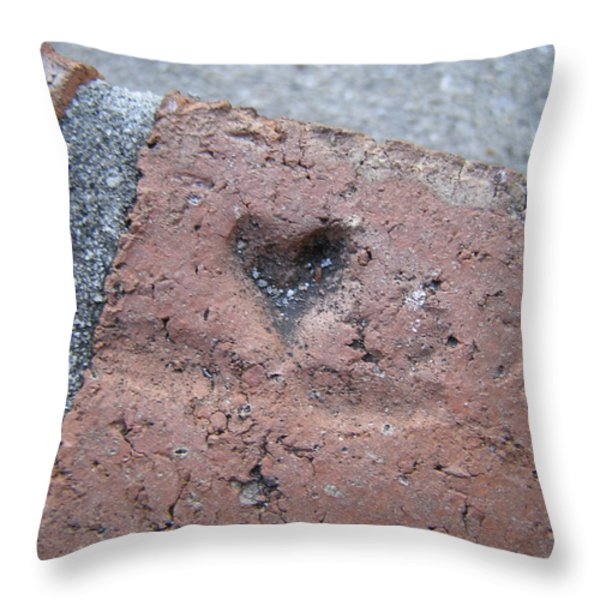 Home Is Where The Heart Is Throw Pillow by Sandi Floyd