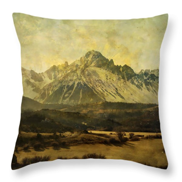 Home Series - The Grandeur Throw Pillow by Brett Pfister