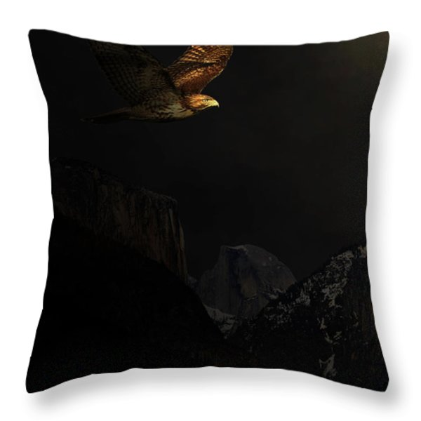 Homeward Bound Throw Pillow by Wingsdomain Art and Photography