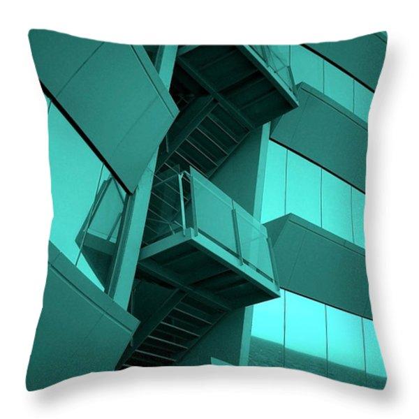 Hotel W - Barcelona Throw Pillow by Juergen Weiss