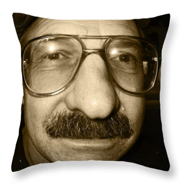 How Do EYE Look Throw Pillow by Kym Backland