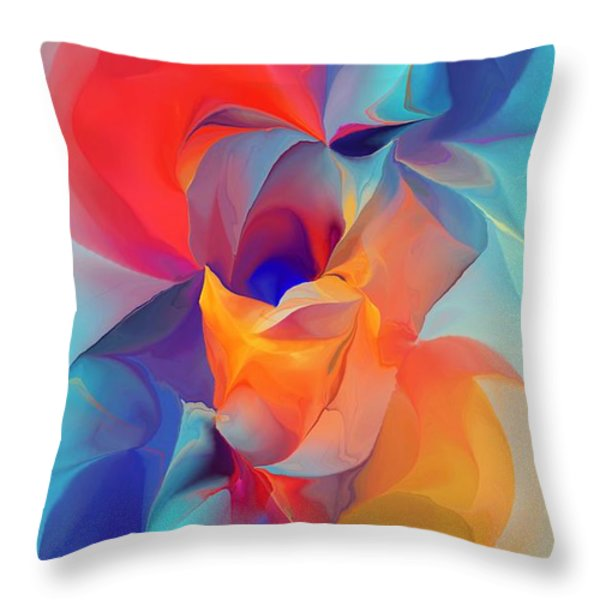 I Am So Glad Throw Pillow by David Lane