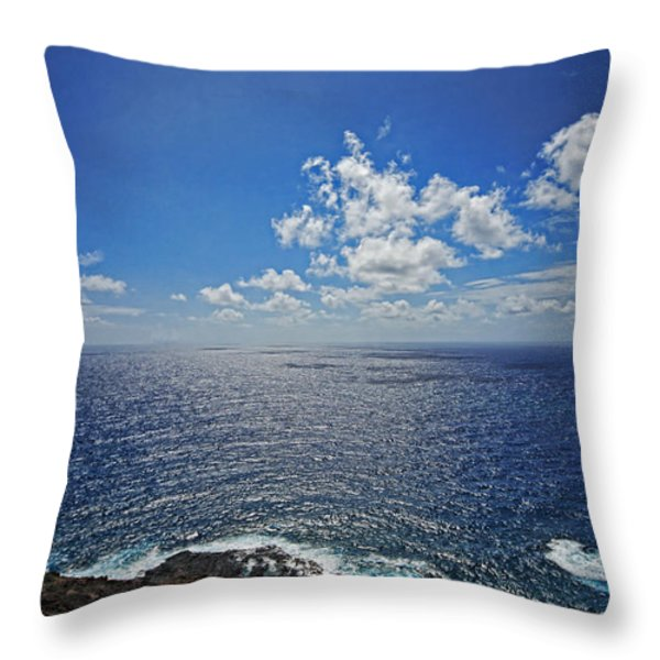 I Can See for Miles Throw Pillow by Cheryl Young