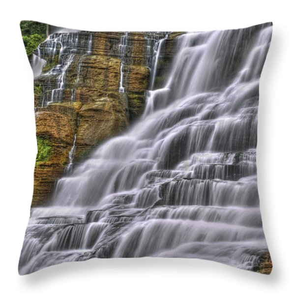 I Fall For You Throw Pillow by Evelina Kremsdorf