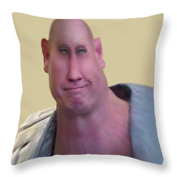I LIFT THINGS UP AND PUT THEM DOWN Throw Pillow by Brian Wallace