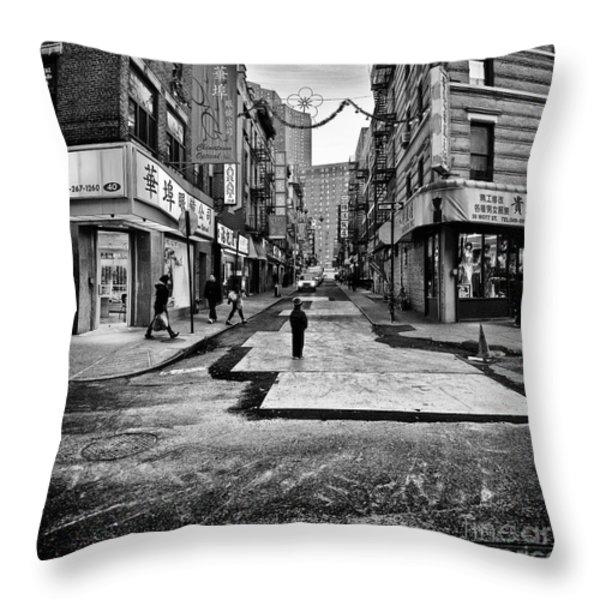 I stand witness Throw Pillow by John Farnan