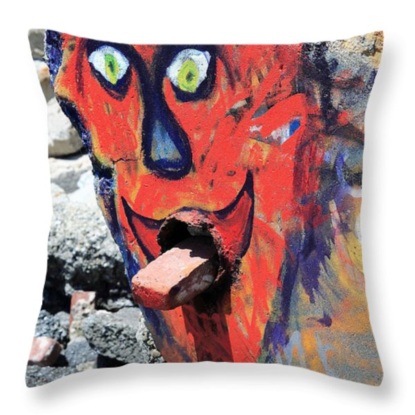 I Survived The Great Rapture . May 21 2011 Throw Pillow by Wingsdomain Art and Photography
