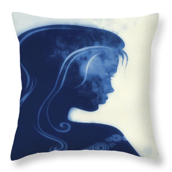 I Walked Away 3 Throw Pillow by Angelina Vick