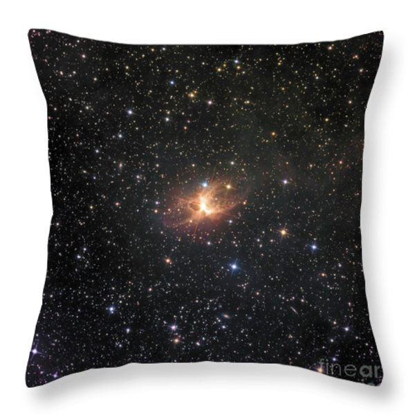 Ic 2220, Known As The Toby Jug Nebula Throw Pillow by Don Goldman