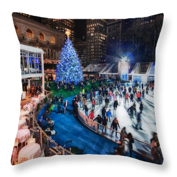 If I Could Make December Stay Throw Pillow by Evelina Kremsdorf