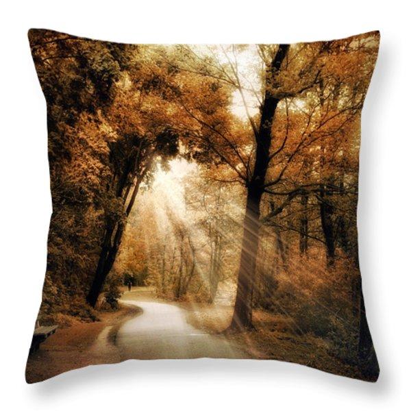 Illumination Throw Pillow by Jessica Jenney