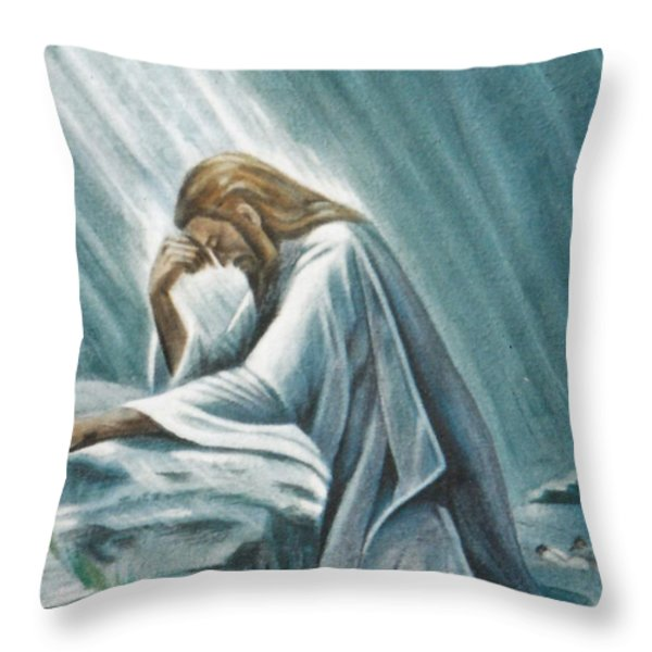 I'm a Pisces Throw Pillow by Jon Became the Anti-Christ