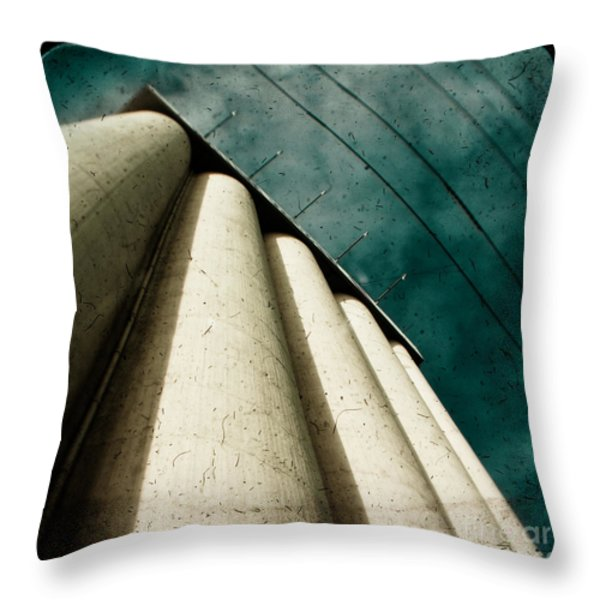 Impending Doom Throw Pillow by Andrew Paranavitana