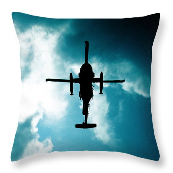 Impending Doom Throw Pillow by Lj Lambert
