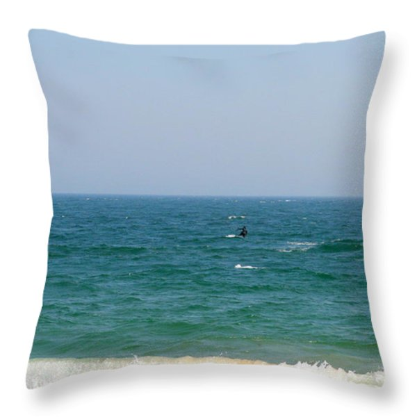 In Between Throw Pillow by Neal  Eslinger