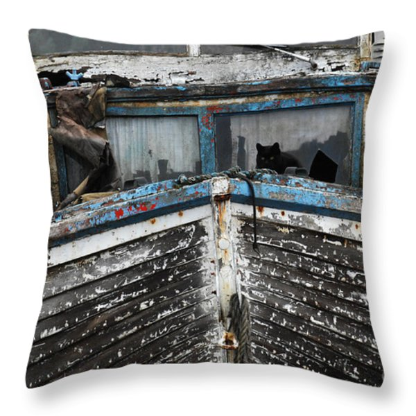 In Need of Work Throw Pillow by Bob Christopher
